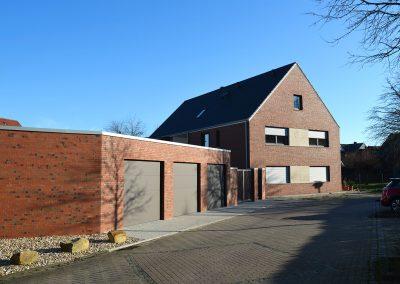 Natursteinfassade für Neubau, Sendenhorst